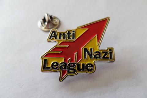 ANTI NAZI LEAGUE  Enamel Badge