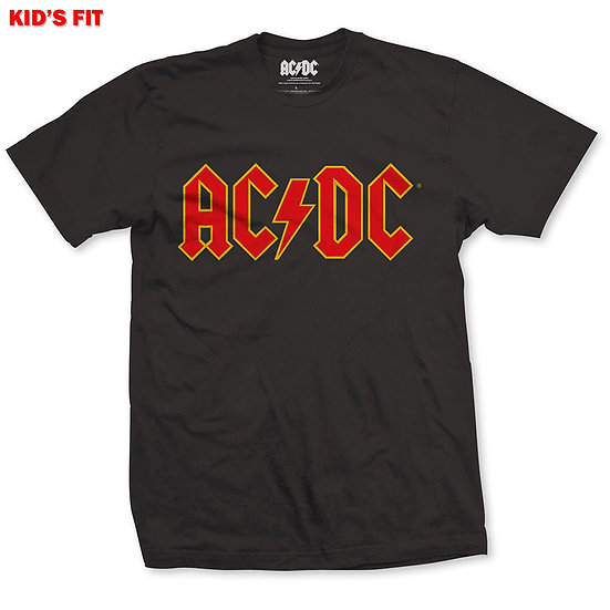 AC/DC Kids Logo Tee