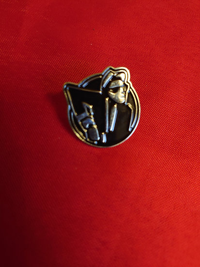 Walt Jabscoenamel pin badge