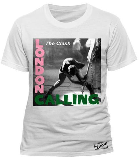 The Clash - London Calling White