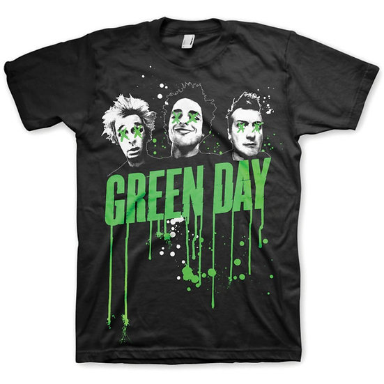 GREEN DAY UNISEX TEE: DRIPS