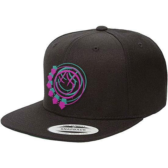 BLINK-182 UNISEX SNAPBACK CAP: DOUBLE SIX ARROWS