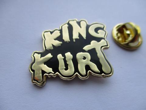 King Kurt Logo Red  Enamel Badge