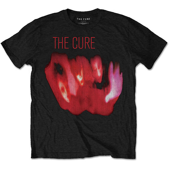 THE CURE UNISEX TEE: PORNOGRAPHY