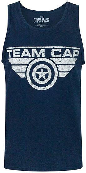 Captain America Civil War Vest Top