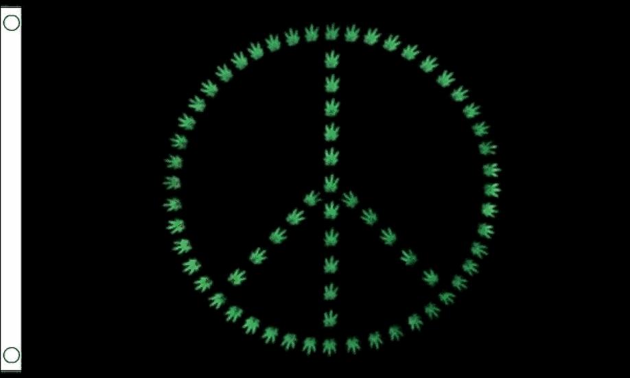 Weed Peace Flag