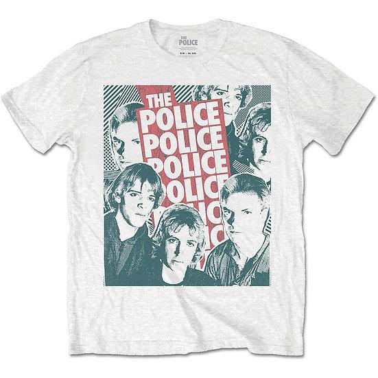 the police halftone fade