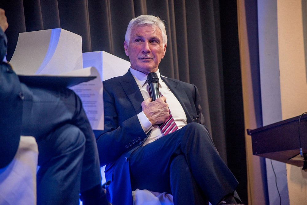 MAFC Patron Mick Malthouse at the Gala Dinner