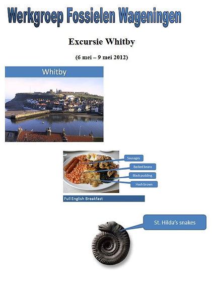 excursiegids whitby 2012