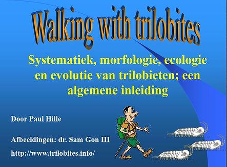 walking with trilobites