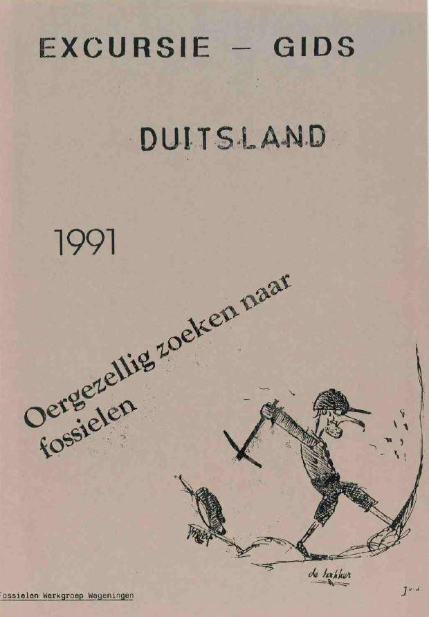 excursie gids duitsland 1991
