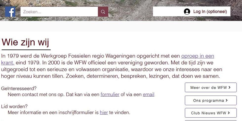 uitleg Website WFW