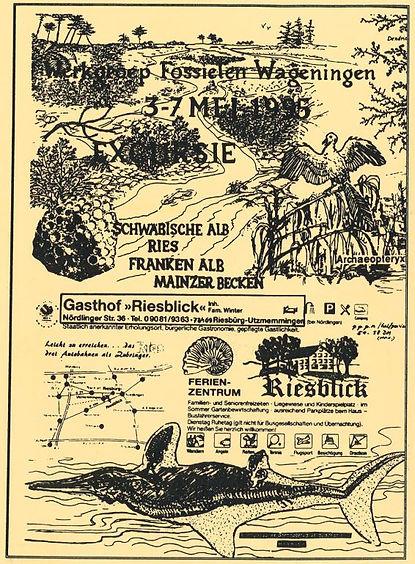excursiegids schwabische alb franken alb 1995