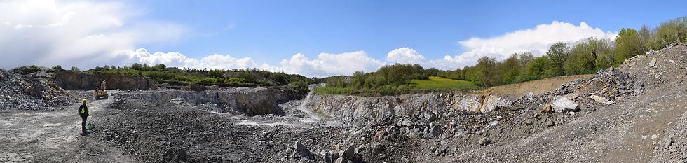 groeve lompret belgie fossielen