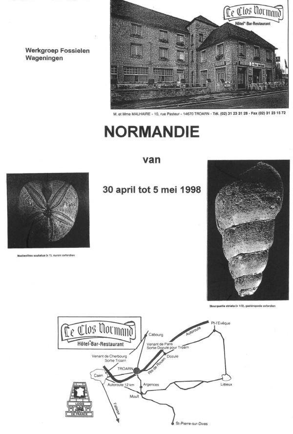 excursiegids 1998 normandie