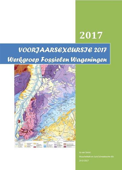 voorjaarsexcursie 2017 muschelkalk enjura schwabische alb