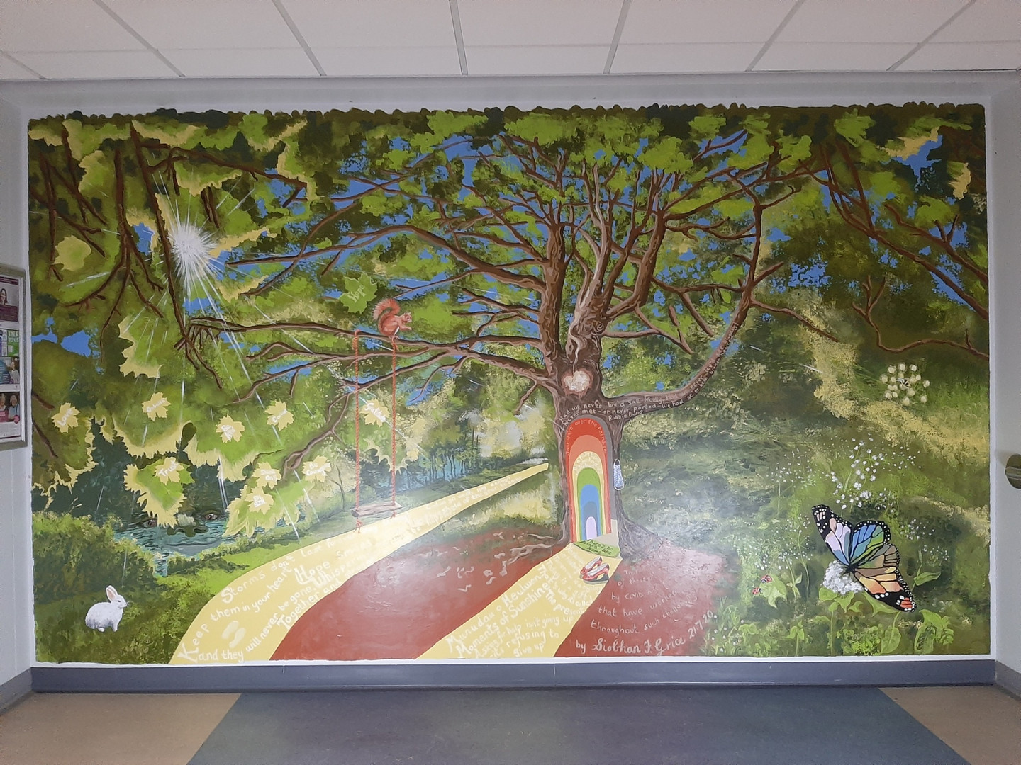 Wellbeing Tree Mural