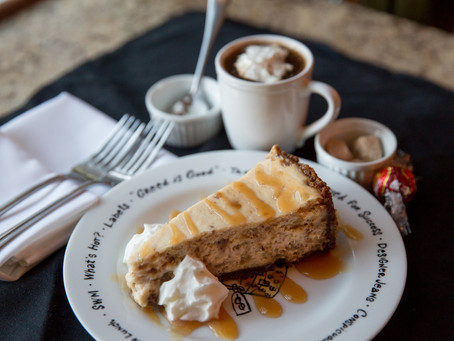 Harry's on the Green - Toffee Apple Cheesecake