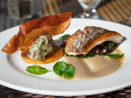 Pan-Seared Rockfish With Five Onion Sauce