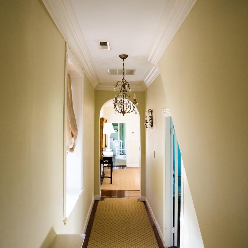 Bowlingly Estate lighting