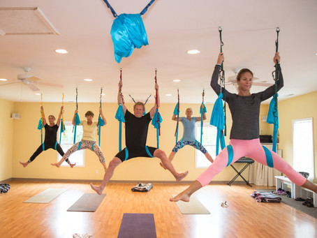 Aerial Yoga in St. Michaels