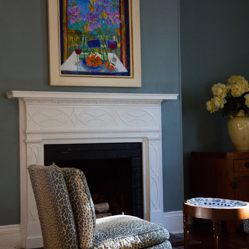 Bowlingly Estate Living Room
