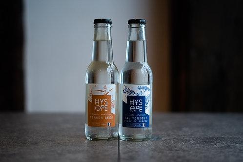 Tonic et Ginger Beer Hysope