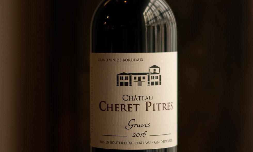 AOC Graves 2016 Chateau Cheret Pitres