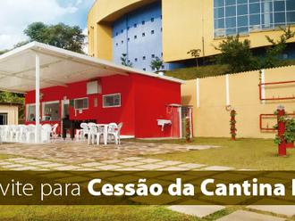 Convite para Cessão da Cantina DCE