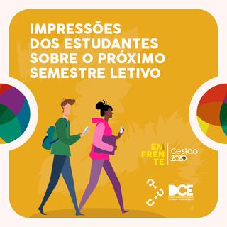REGIME PRESENCIAL CONTINGENCIADO - Dúvidas, preocupações e opiniões dos estudantes. DCE PUC Minas Po