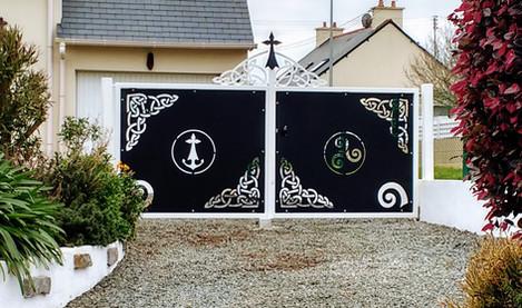 Portail de style breton