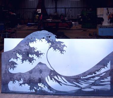 Vague d'après Hokusai