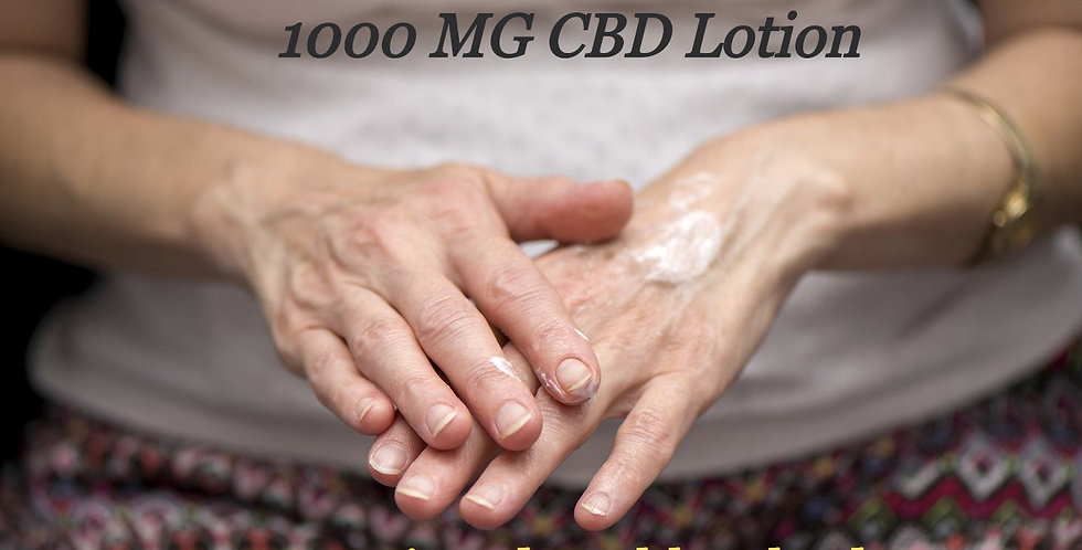 1000 MG Topical CBD lotion