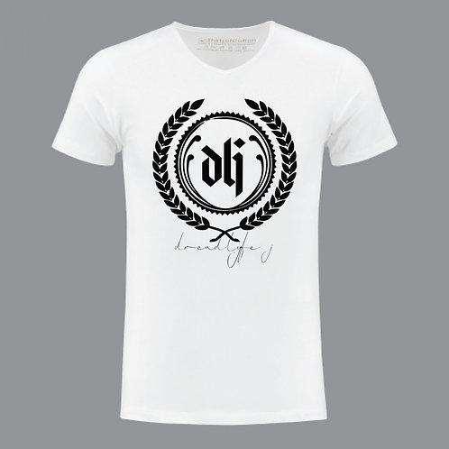 DLJ dreadlyfej Custom Designer White Shirt
