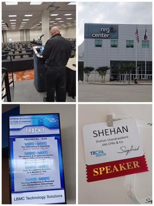 2019 Spring Accounting Expo, Houston