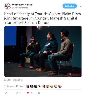 Washington Elite Blockchain Summit, Washington