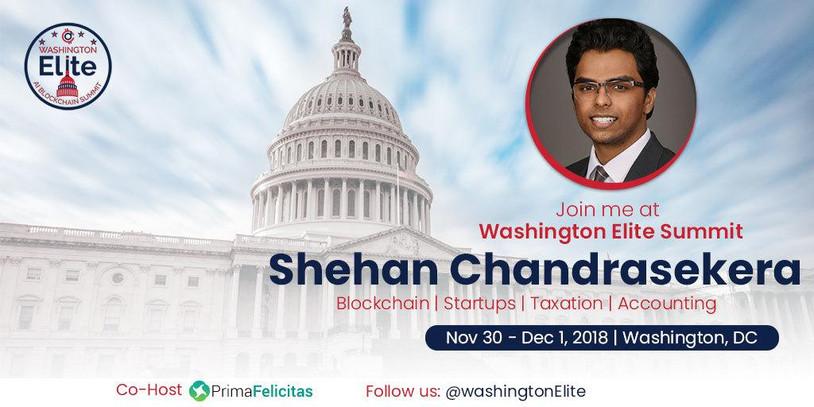 Washington Elite Blockchain Summit, Washington DC