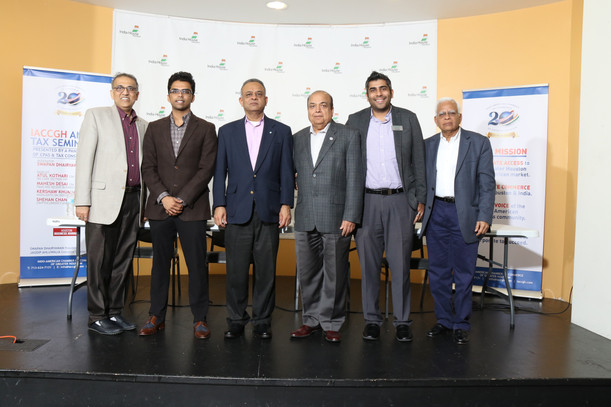 Panel at Indo-American Chamber of Commerce, Houston