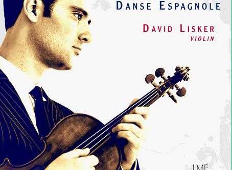 "DAVID LISKER RELEASES NEW SOLO CD ""DANSE ESPAGNOLE"""