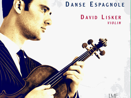 "DAVID LISKER RELEASES NEW SOLO CD ""DANSE ESPAGNOLE"""