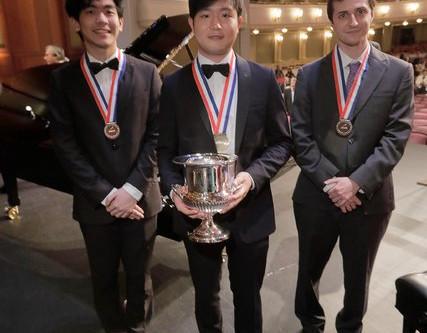 YEKWON SUNWOO WINS 2017 VAN CLIBURN COMPETITION