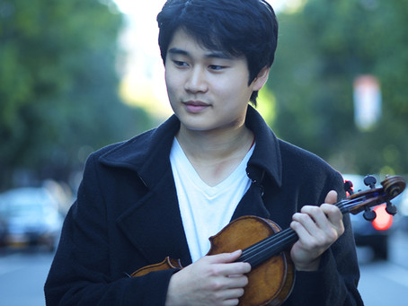WINNER OF 2015 PAGANINI COMPETITION PERFORMS IN LMF SEASON