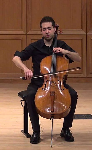 cellist Matthew Zalkind