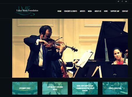 LISKER MUSIC FOUNDATION LAUNCHES BRAND NEW WEBSITE