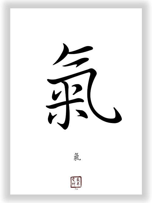 """Kunstdruck """"Chi"""" Motiv DIN A3"""