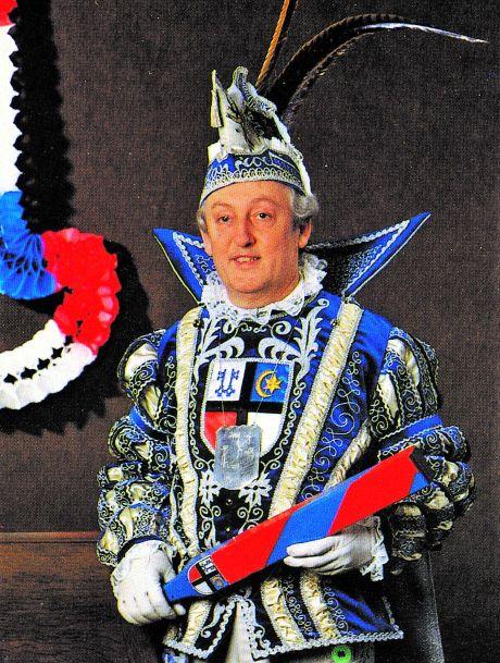 1983 Prinz Walter I. Pegels