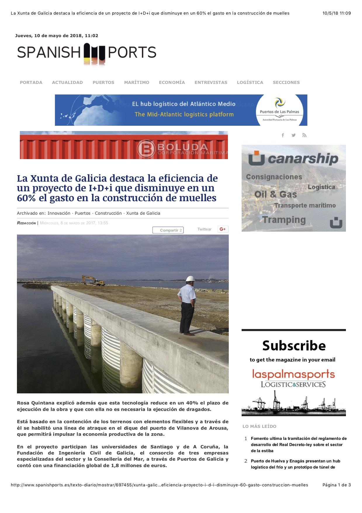 Xunta de Galicia eficiencia