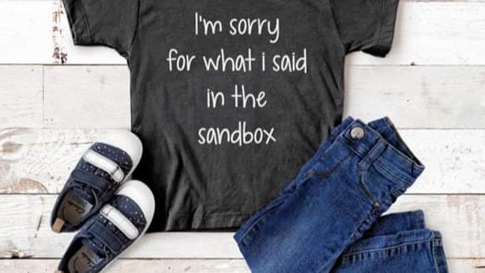 Sandbox Kids Tee