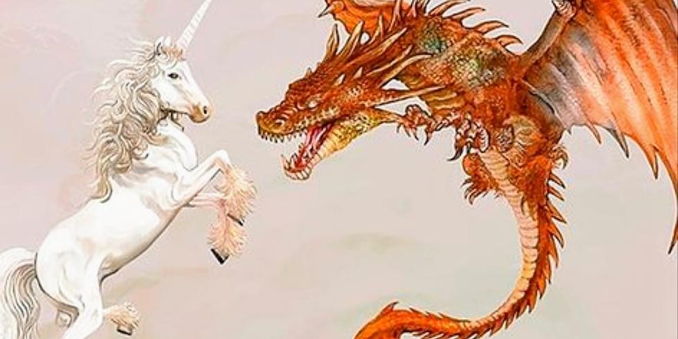 Land of Make Believe ( Unicorns & Dragons)