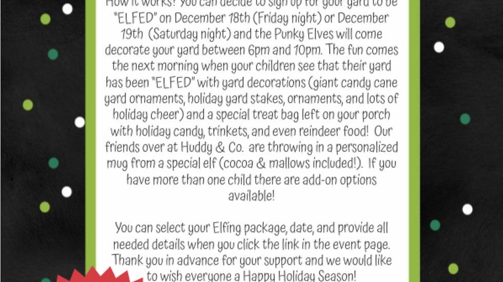Elf My Yard (Saturday, 12/19)